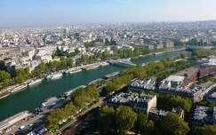 Párizs az Eiffel toronyból