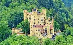 tavasz hohenschwangau várak és kastélyok alpok németország