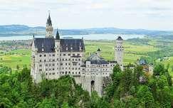 tavasz várak és kastélyok alpok németország neuschwanstein kastély