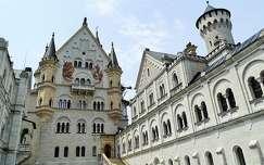 várak és kastélyok németország neuschwanstein kastély