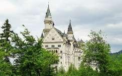 alpok várak és kastélyok németország neuschwanstein kastély