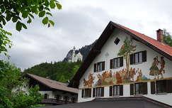 várak és kastélyok alpok németország neuschwanstein kastély ház