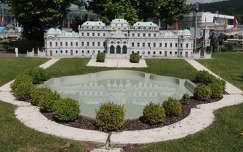 Ausztria,Klagenfurt, Minimundus, Bécsi Belvedere makettja