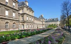 Medici Palota  Luxembourg kert,  Párizs
