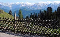 Ausztria,Karintia, Panorámaút Villachnál