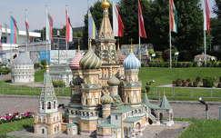 Klagenfurt,Minimundus,Moszkva: Vaszilij Blazsenij templom makettje