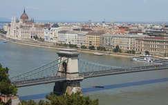 Budapest,Parlament,Lánchíd,Duna