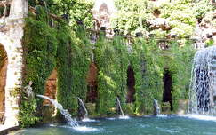 Tivoli - a villa D'Este kertje