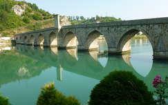 Híd a Drinán, Vi¹egrad, Bosznia és Hercegovina