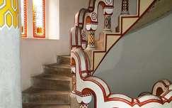 Lépcső, Bory vár