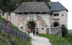 Hochosterwitz vár kapuja,Ausztria