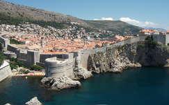 Dubrovnik óváros részlet