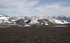 Norvégia, Tromsö melletti hegyek nyáron