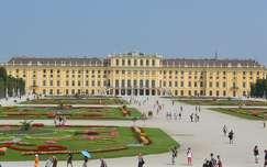ausztria kertek és parkok schönbrunn-kastély bécs nyár várak és kastélyok