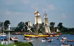 NEDERLAND - Spaarndam,  SAIL 2015-Tall Ship The Shtandart. Rusland, St. Petersburg