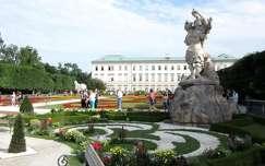 Ausztria, Salzburg - Mirabell-kert