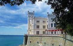 Olaszország, Trieszt, Miramare kastély