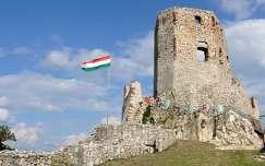 A cseszneki vár romja