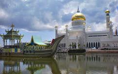 Omar Ali Saifuddin Mecset, Brunei, Borneó sziget