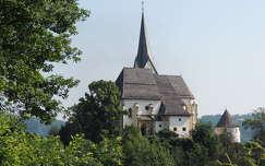 Maria Wörth temploma,a Wörthi tónál,Ausztria