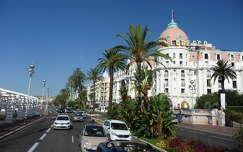 Angol sétány és a Negresco hotel, Nizza