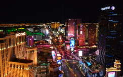 Las Vegas By Night,Nevada,USA