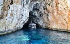 Blue Cave, Görögország