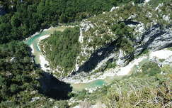 Verdon kanyon, Franciaország