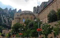 spanyolország barcelona kövek és sziklák montserrati apátság montserrat