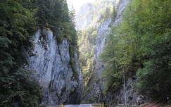 út románia békás-szoros kövek és sziklák kárpátok erdély