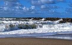 tengerpart hullám