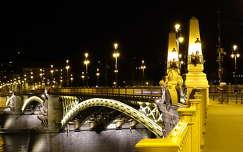 magyarország éjszakai képek híd margit híd budapest