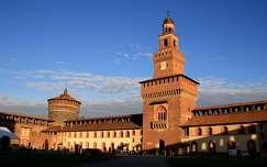 Olaszország, Milano - Sforza-kastély