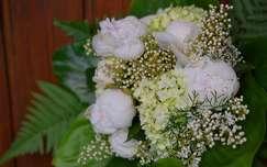 névnap és születésnap tavaszi virág hortenzia pünkösdi rózsa virágcsokor és dekoráció