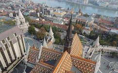Budapest a Mátyás templom tornyából
