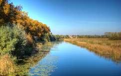 Az őszi Ferenc-csatorna, Dávod, Magyarország