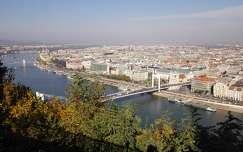 híd erzsébet híd folyó budapest magyarország duna