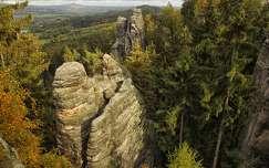 Prachov sziklák, Csehország