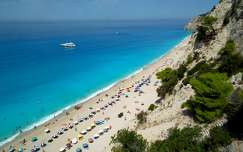 Egremni strand, Lefkada, Görögország
