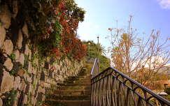 lépcső szicília olaszország kerítés