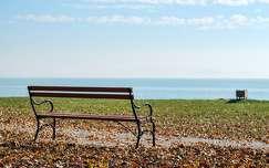 Őszi balaton part