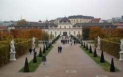 Belvedere kertje ősszel, Bécs