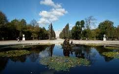 Õsz a Schönnbrunn parkban, Bécs