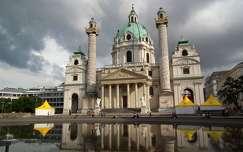 Karlskirche, Bécs