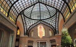 Budapest,Karácsonyi hangulat  a Gresham palotában