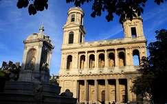 Franciaország, Párizs - Saint-Sulpice templom