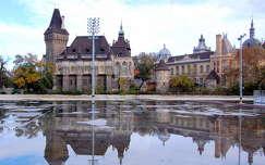 magyarország budapest tükröződés várak és kastélyok vajdahunyad vára tó