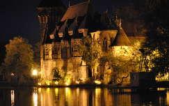 éjszakai képek magyarország budapest várak és kastélyok vajdahunyad vára