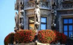 Németország, München - Új Városháza