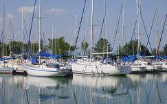 Magyarország, Balaton, Balatonszemes, kikötő